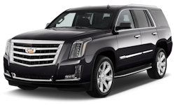2016 Black Cadillac Escalade