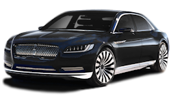2016 Black Lincoln Continental