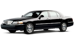 2012 Black Lincoln Town Car