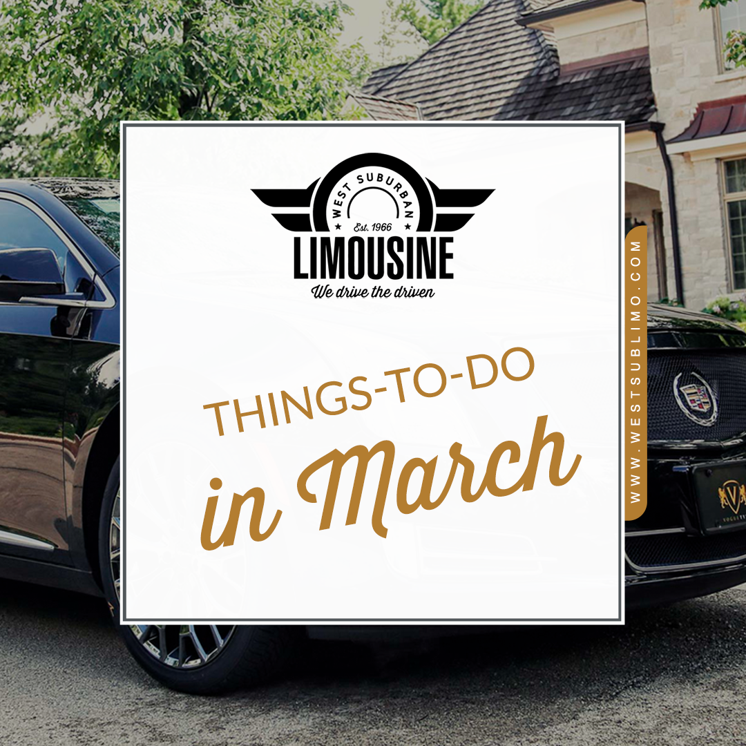 List of Things To Do in the Chicago Suburbs for March, 2020
