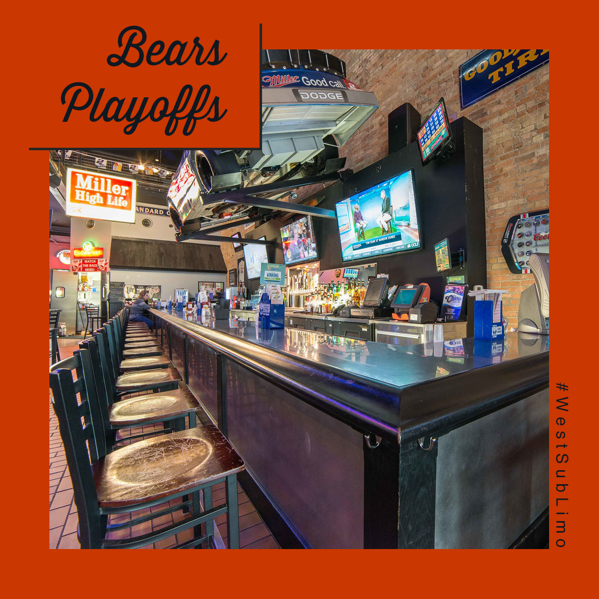 Chicago Suburbs Limo Service for Bears Playoff Season
