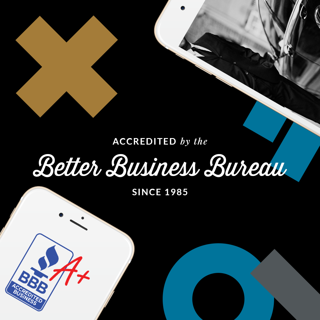 Accredited by the Better Business Bureau since 1984