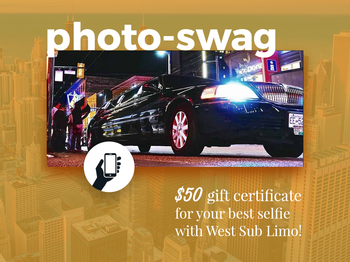 photo contest for the best limo selfie